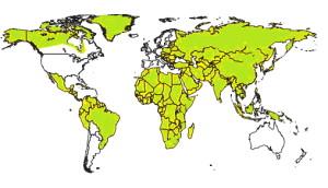 Hepatitis B risicolanden
